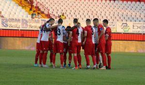 Vojvodina porazom od TSC završila polusezonu domaćeg fudbala