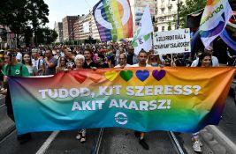 Hiljade ljudi na maršu ponosa u Budimpešti