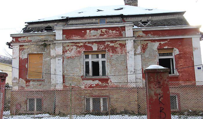 Nemar vlasnika, poznatog srpskog fudbalera, doveo do urušavanja vile pod zaštitom Grada