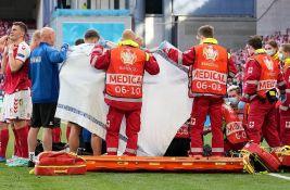 Lekar danskog tima: Eriksenu na terenu stalo srce, još se ne zna zašto