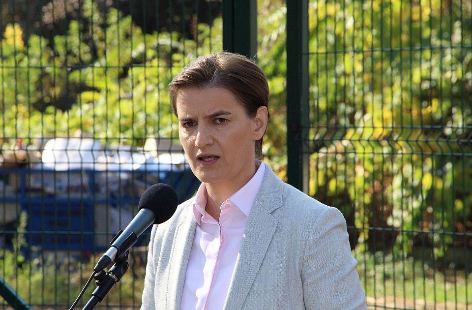 Brnabić: Protesti u Zrenjaninu su ludistički pokreti; Vučić: Njihova politika je zeleno drvo
