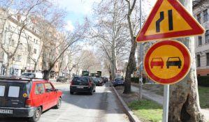 FOTO: Manje gužve u saobraćaju zbog izgradnje semafora u Futoškoj i Jevrejskoj ulici