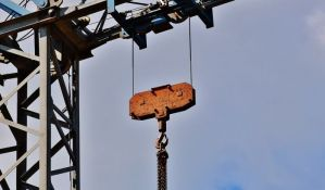 Teško povređen radnik na gradilištu na Bulevaru Evrope