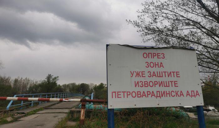 Radovi na rekonstrukciji bunara na Petrovaradinskoj adi