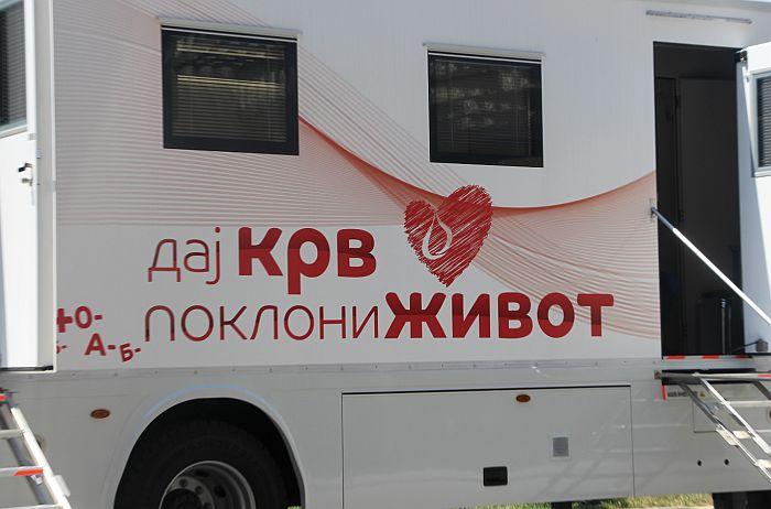 Akcija dobrovoljnog davanja krvi u subotu u centru Novog Sada