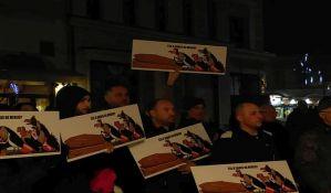 Na protestu Saveza za Srbiju glavna tema stanje u medijima