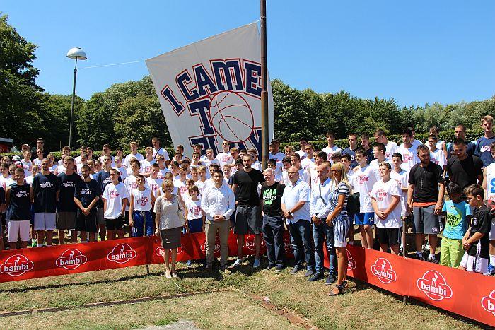 FOTO: Na Letenki počeo jubilarni deseti kamp košarke za mlade iz bivše SFRJ