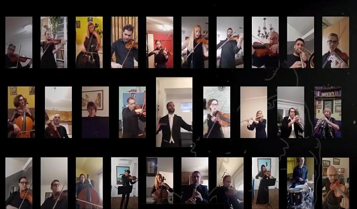 VIDEO: Muzičari Srpskog narodnog pozorišta izveli