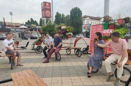FOTO: Uskoro autentična parkirališta za bicikle širom Novog Sada