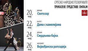 Novi onlajn repertoar Srpskog narodnog pozorišta