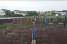 FOTO: Izmešta se igralište na Adicama zbog uređenja Ulice Marije Bursać