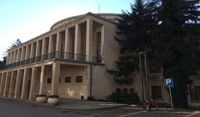 Obnavlja se fasada Skupštine Vojvodine, reparira se brački mermer