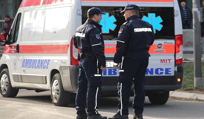 Žena lakše povređena u lančanom sudaru na izlazu iz Novog Sada