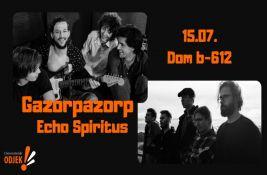 Gazorpazor i Echo Spiritus u četvrtak u Domu b-612