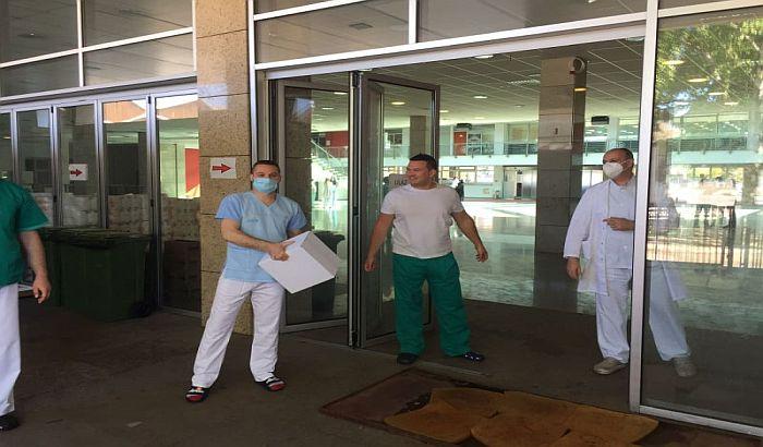 Novosadski privrednici obezbedili pakete hrane za zaposlene u Kliničkom centru Vojvodine