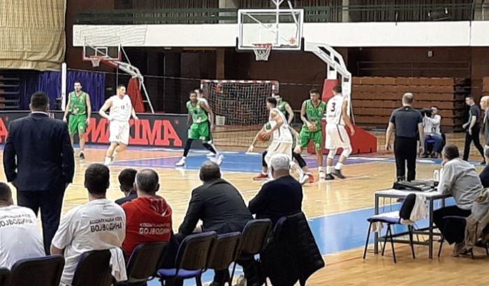 Košarkaši Vojvodine poraženi u Čačku, ispali u Drugu ligu