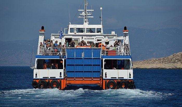 Trajekti do grčkih ostrva kreću u ponedeljak
