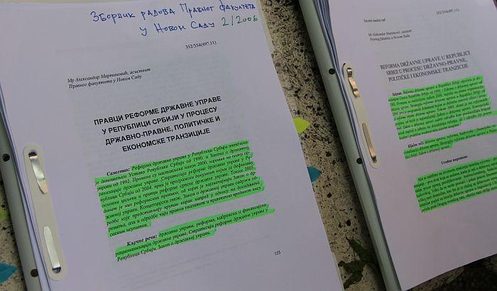 Nakon žalbe Balše Božovića i pisanja medija Martinovićevi radovi