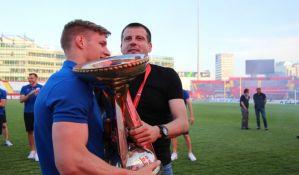 FOTO: Lalatović i pobednici Kupa oslikani  na