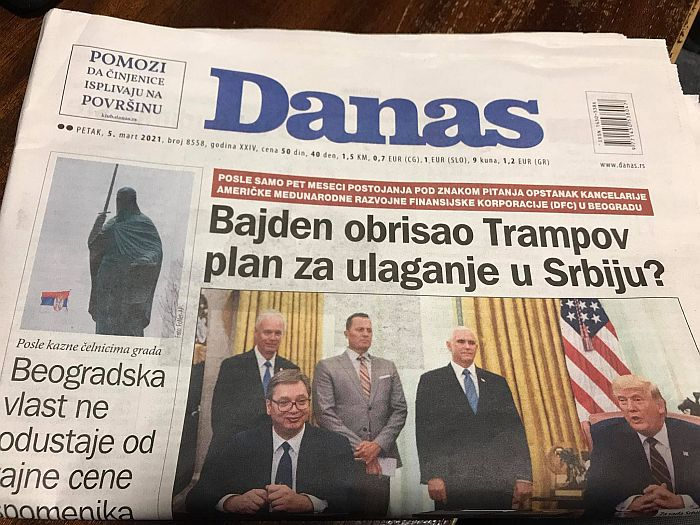 United Media preuzela list Danas