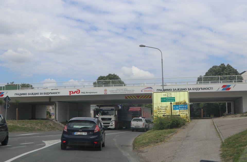 Testiranje dva nadvožnjaka u Novom Sadu menja režim saobraćaja