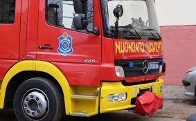 Ugašen požar u kancelariji u Železničkoj ulici