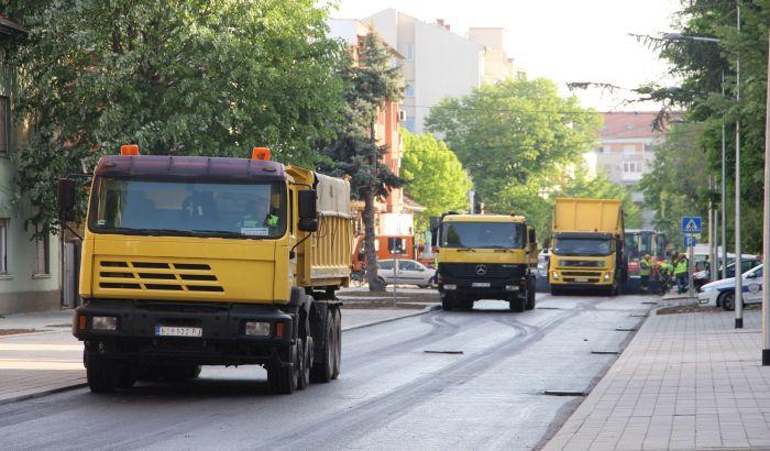 FOTO: Završena rekonstrukcija Tolstojeve ulice