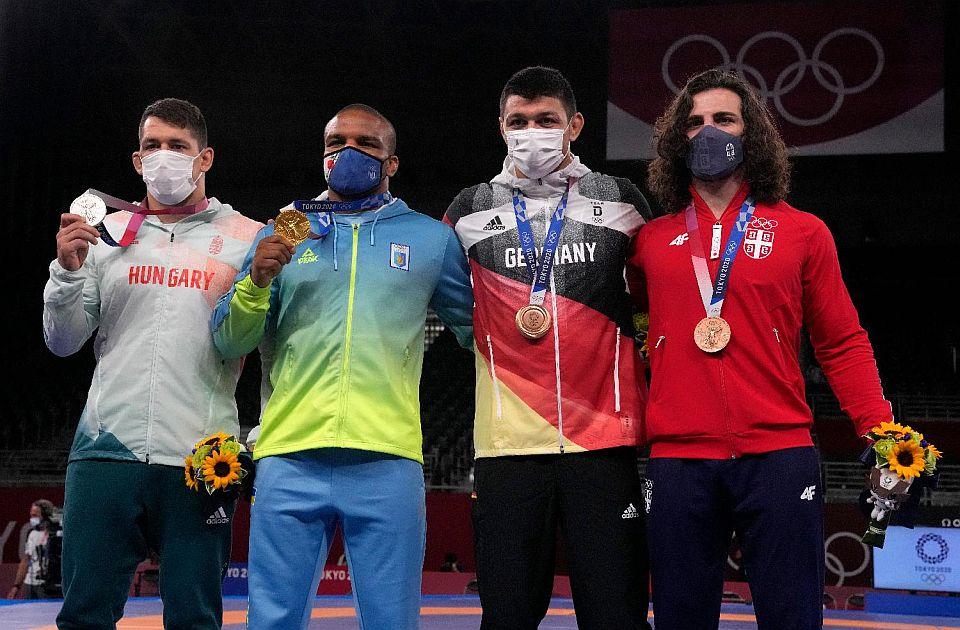 Datunašvili nakon medalje: Hvala ti, Srbijo, ovo je bio moj cilj u Tokiju