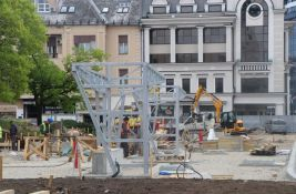 FOTO, VIDEO: Dva meseca traju radovi u centru Novog Sada, pogledajte šta je do sada urađeno