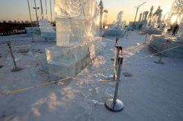 Istopile se skulpture na Festivalu leda u Harbinu