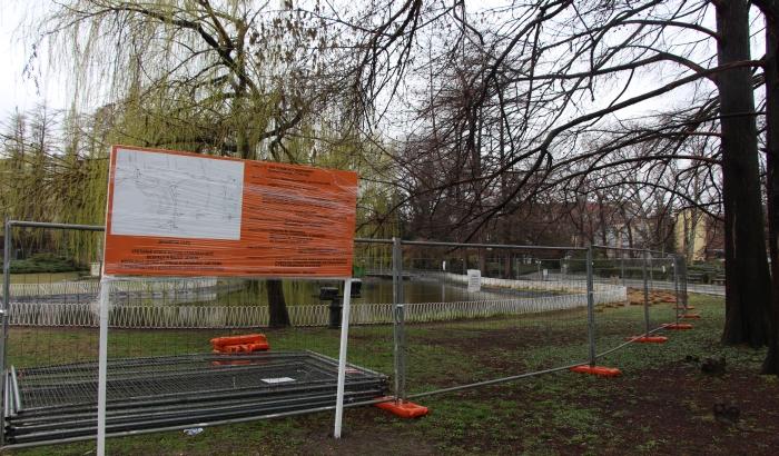 FOTO: Počela rekonstrukcija Dunavskog parka