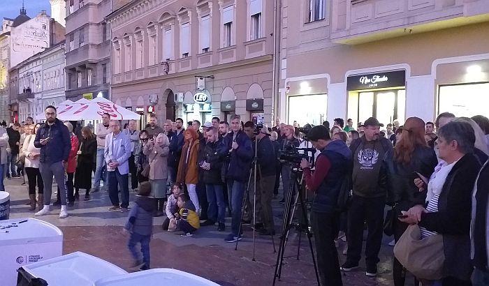 Održan protest protiv režima u Novom Sadu