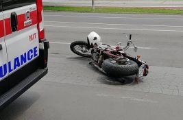 Motociklista poginuo u Subotici, saputnica teško povređena