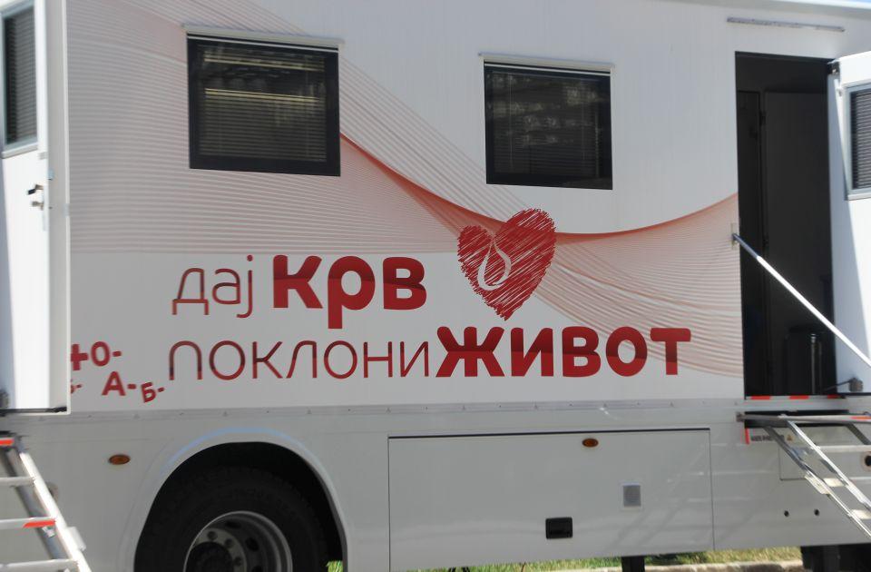 Akcija dobrovoljnog davanja krvi sutra na platou Spensa