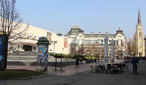 FOTO: Počinje uređenje Pozorišnog trga, radiće se kanalizacija na uglu Jevrejske i Bulevara Mihajla Pupina