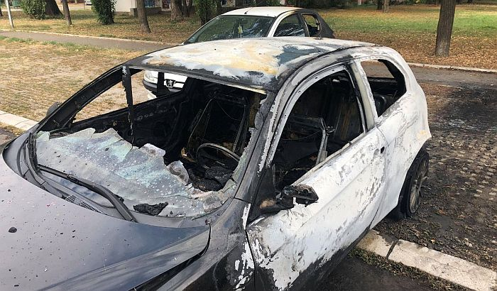 Uhapšen osumnjičeni za paljenje automobila na Novom naselju