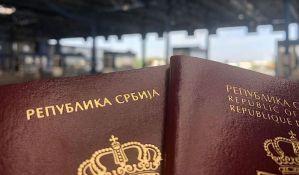 Srpski pasoš na 40. mestu u svetu po jačini