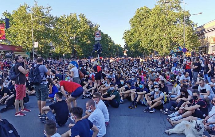 Večeras još jedan protest u Novom Sadu