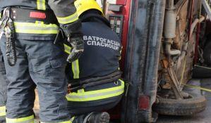Žena povređena u teškom udesu u Kisaču van životne opasnosti