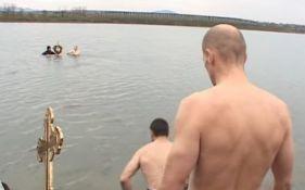 Plivanje za časni krst u subotu u Sremskoj Kamenici