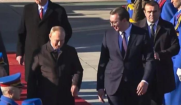 VIDEO: Predsednik Rusije završio posetu Srbiji