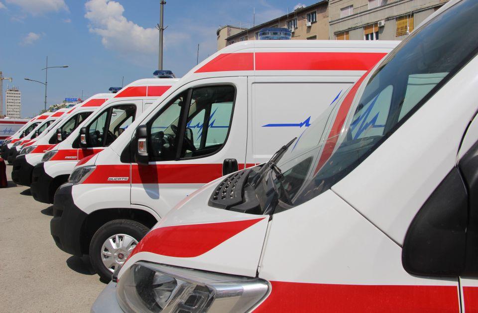 Radnik povređen na gradilištu na Limanu