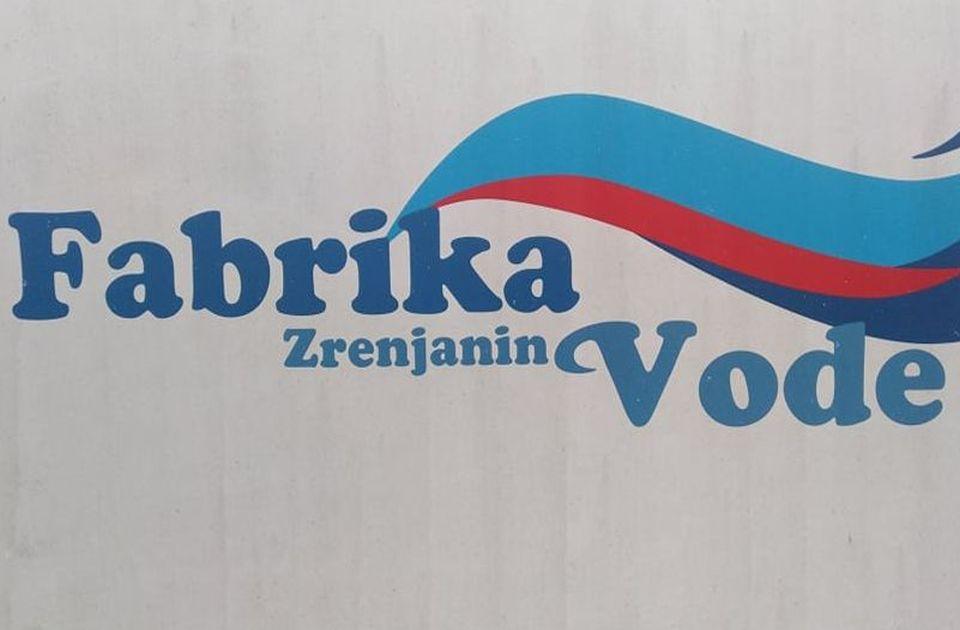 Brnabić: Tražimo novog partnera za fabriku vode u Zrenjaninu