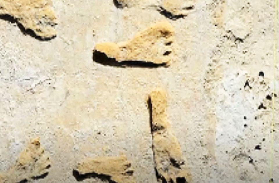 VIDEO: Otkriveni ostaci stopala stari 23.000 godina