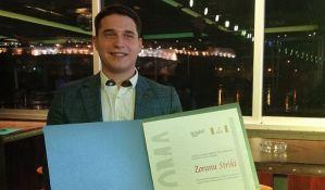 Novinar 021 Zoran Strika proglašen za najboljeg mladog novinara u Srbiji