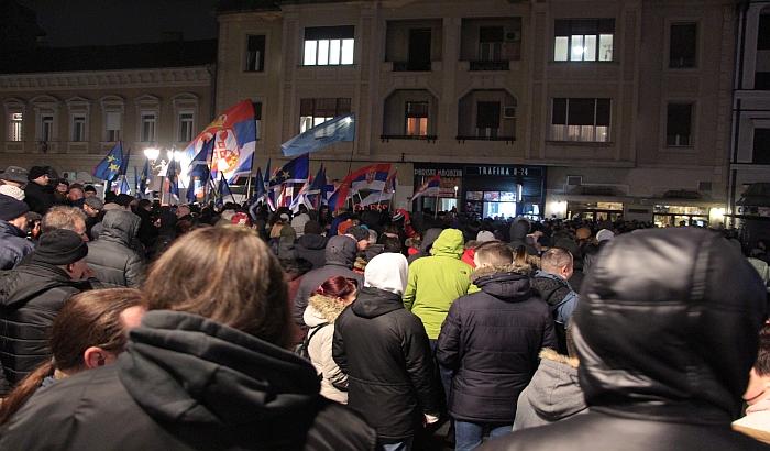FOTO, VIDEO: Održan četvrti protest