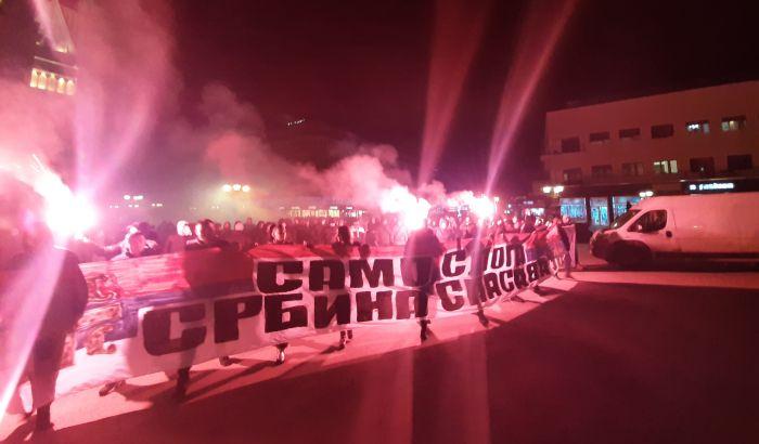 FOTO, VIDEO: U Novom Sadu protest protiv