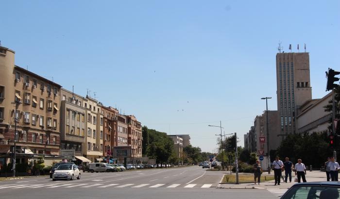 Uređenje biciklističkih staza na Bulevaru Mihajla Pupina najranije sledeće jeseni