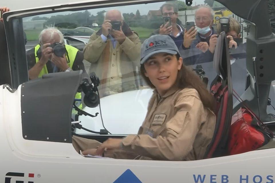 VIDEO: Tinejdžerka u misiji da postane najmlađa žena koja je samostalno preletela svet