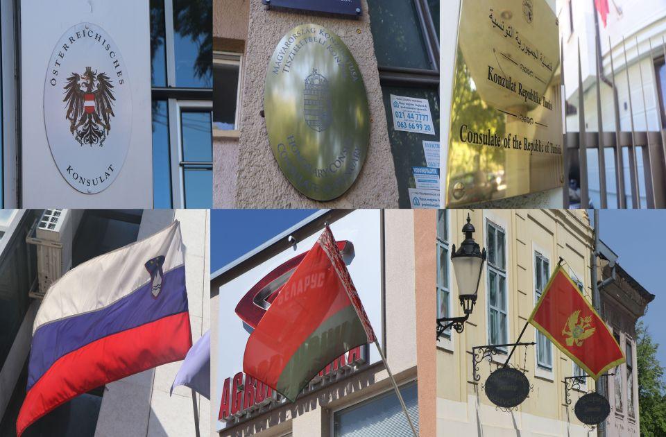 Novi Sad dom nekoliko konzulata stranih zemalja: Od Tunisa do Austrije - znate li gde se nalaze?
